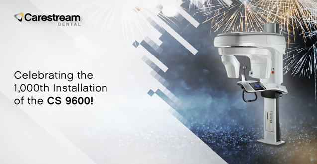 One million acquisitions, more than 500,000 patients, four awards and one Scan Ceph module enhancement later, the @CarestreamDentl CS 9600 CBCT has reached another exciting milestone: 1,000 systems installed https://t.co/oP19lyOscQ