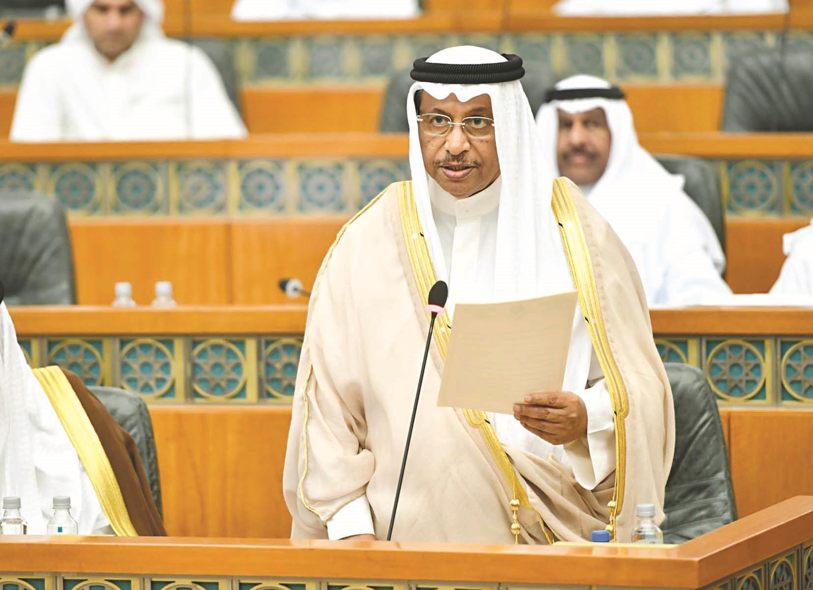 الحكومة الكويتية تقدمت باستقالتها