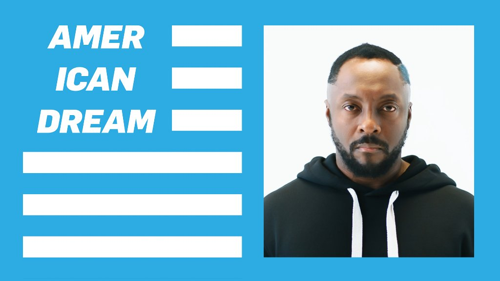 "Hear @iamwill's new single promoting access to education through his @iamangelfdn.  Listen to ""American Dream"" only on Apple Music, and donate to the #AmericanDreamFund here:"