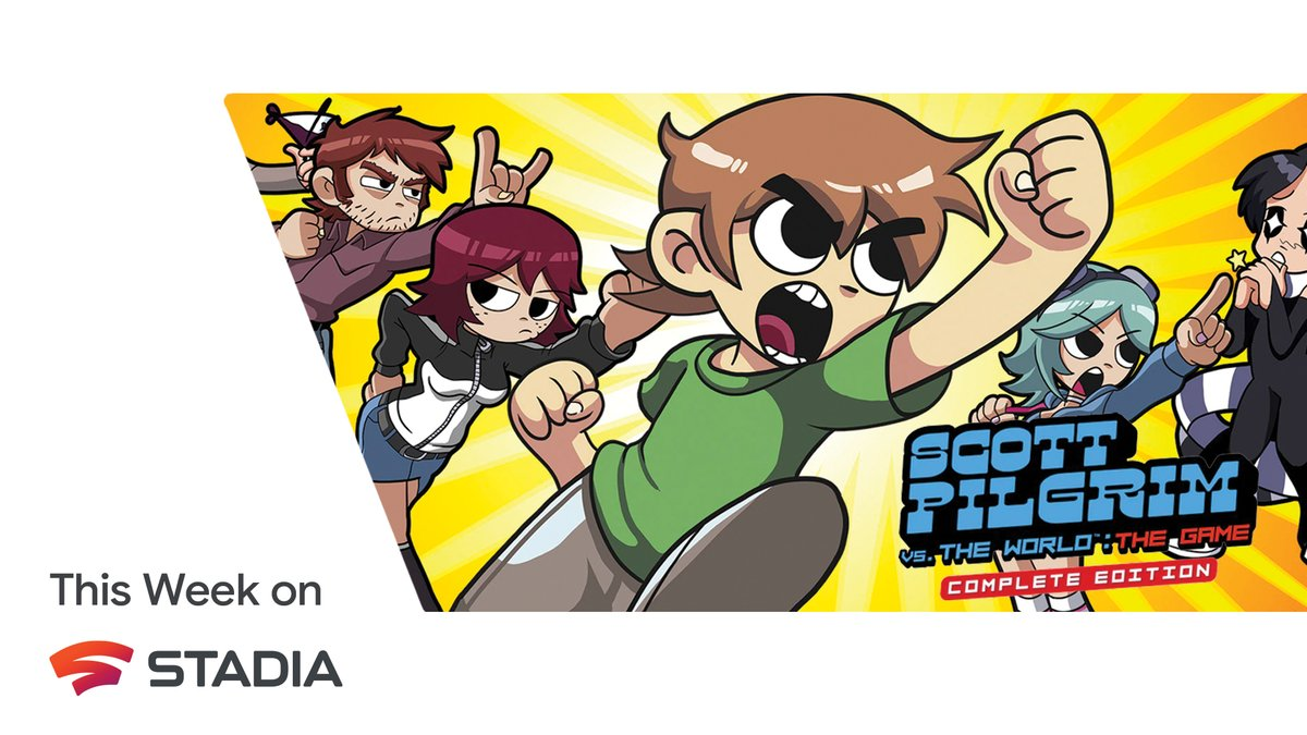 Scott Pilgrim is back! Get ready to jump back into the world of Scott Pilgrim and defeat Ramona's Evil Exes when Scott Pilgrim vs. the World: The Game launches January 14 on Stadia.   Check out our blog for all the details: