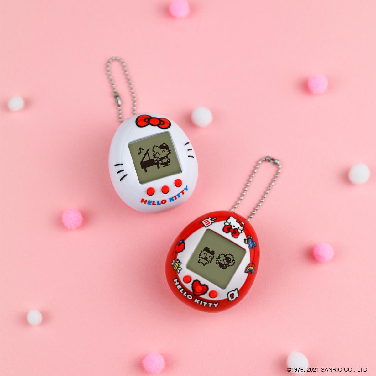 Tamagotchi, but with a supercute twist! 🎀Hello Kitty Tamagotchi is now available at @Target stores. #target