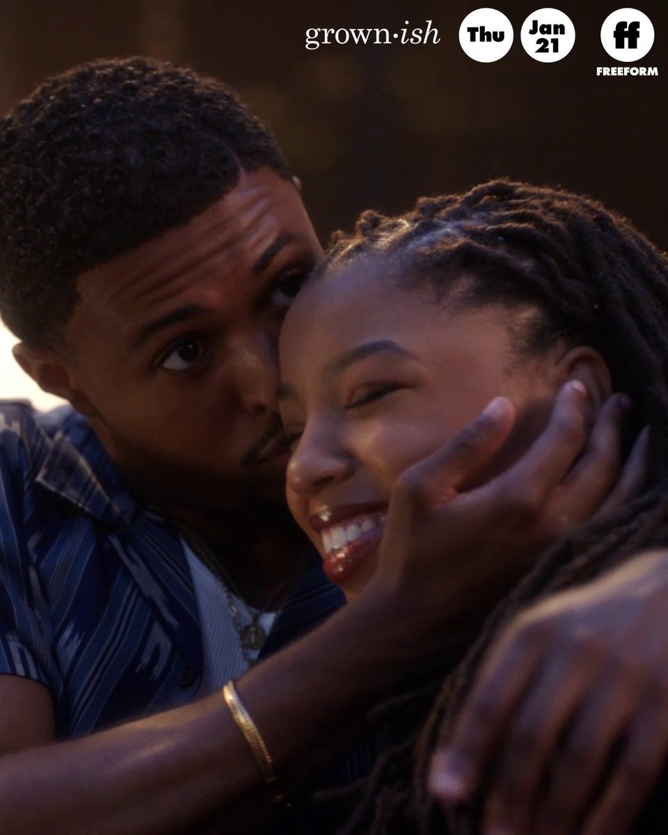 a #dazzlyn love story. catch up on #grownish on @hulu.