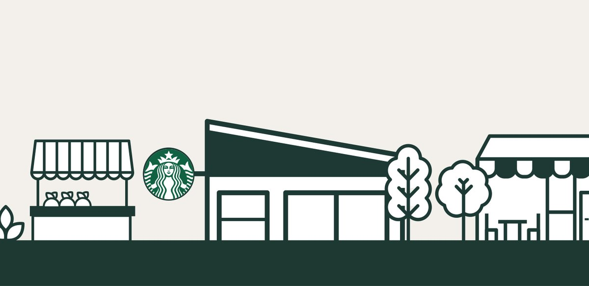 Today, Starbucks unveils programs to strengthen communities:    - $100MM investment to support small businesses & community projects in BIPOC neighborhoods    - Partners w/ @NMAAHC to provide educational resources from the museum's collection   Learn more: