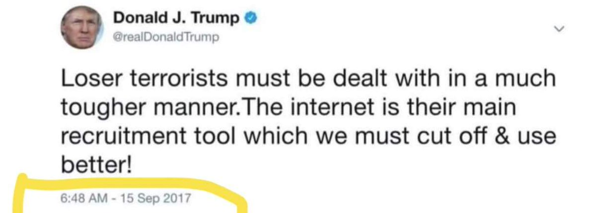 There REALLY is a #Tweet for EVERYTHING #NoFlyList #NoFly #AmericanTerrorists #CapitolRiot #ImpeachandRemove #ImpeachTrumpAgainNOW