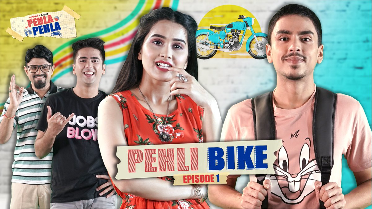 '𝐏𝐞𝐡𝐥𝐚 𝐏𝐞𝐡𝐥𝐚' is the story of young and intelligent Rohit, who is dreaming of making it big despite his father's disapproval of his future plans.  upGrad & Alright present #PehlaPehla. Watch the 1st episode now -   #LifeLongLearning #KaamKiDegree