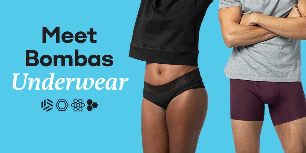 "Introducing our newest creation: Bombas Underwear. So effortlessly comfortable, you'll forget you're even wearing underwear...In a good way. Not in a ""oh no"" way."