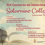 Image for the Tweet beginning: 👉Fernando Méndez gana el XIX