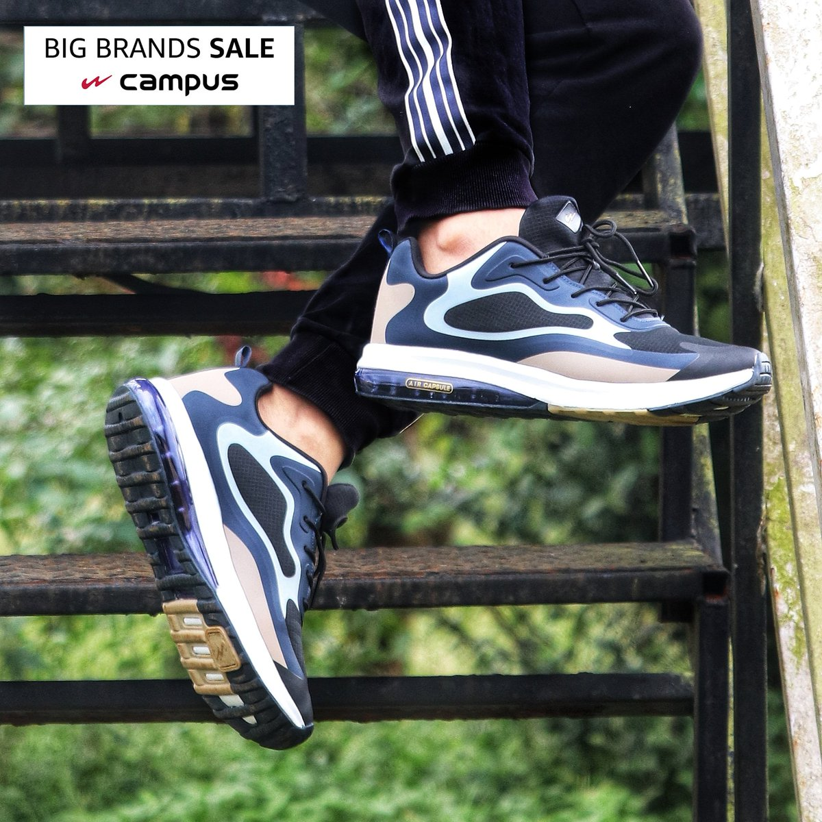 Kick off 2021 with a mega-dose of comfort & style with a pair of future-ready footwear from @campusshoes! Shop & get them at up to 30% off during our #BigBrandSale:  . . #CampusShoes #Footwear #shoes #sneakers #Style #AmazonFashion #HarPalFashionable