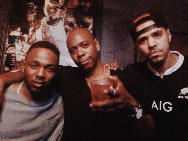 RT @rbrbreyes: Kendrick Lamar, Dave Chappelle and J. Cole! https://t.co/dZxxk5QfEC