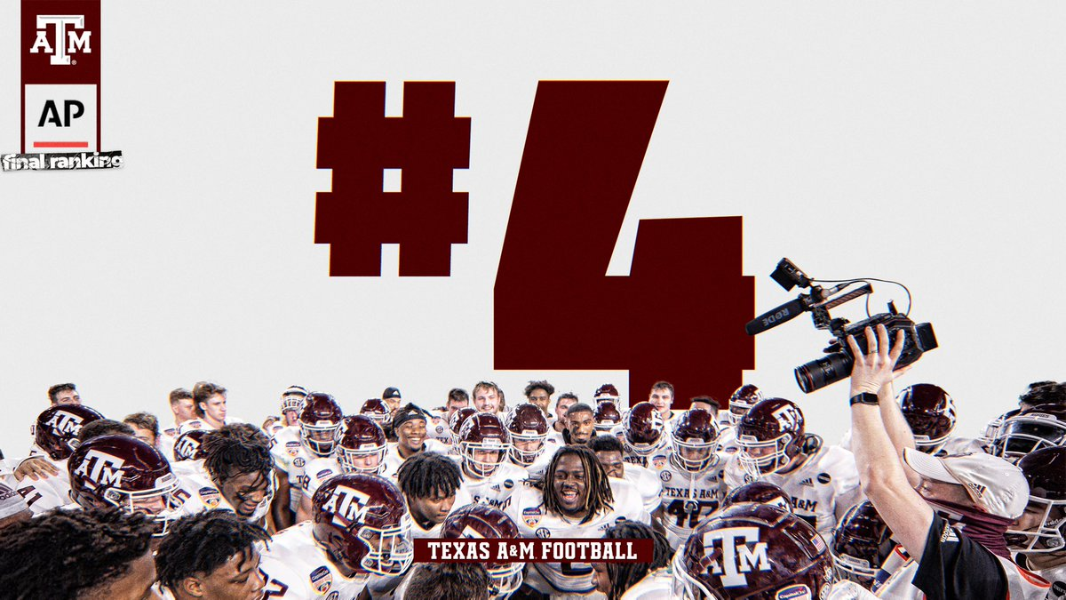 What a year. #GigEm