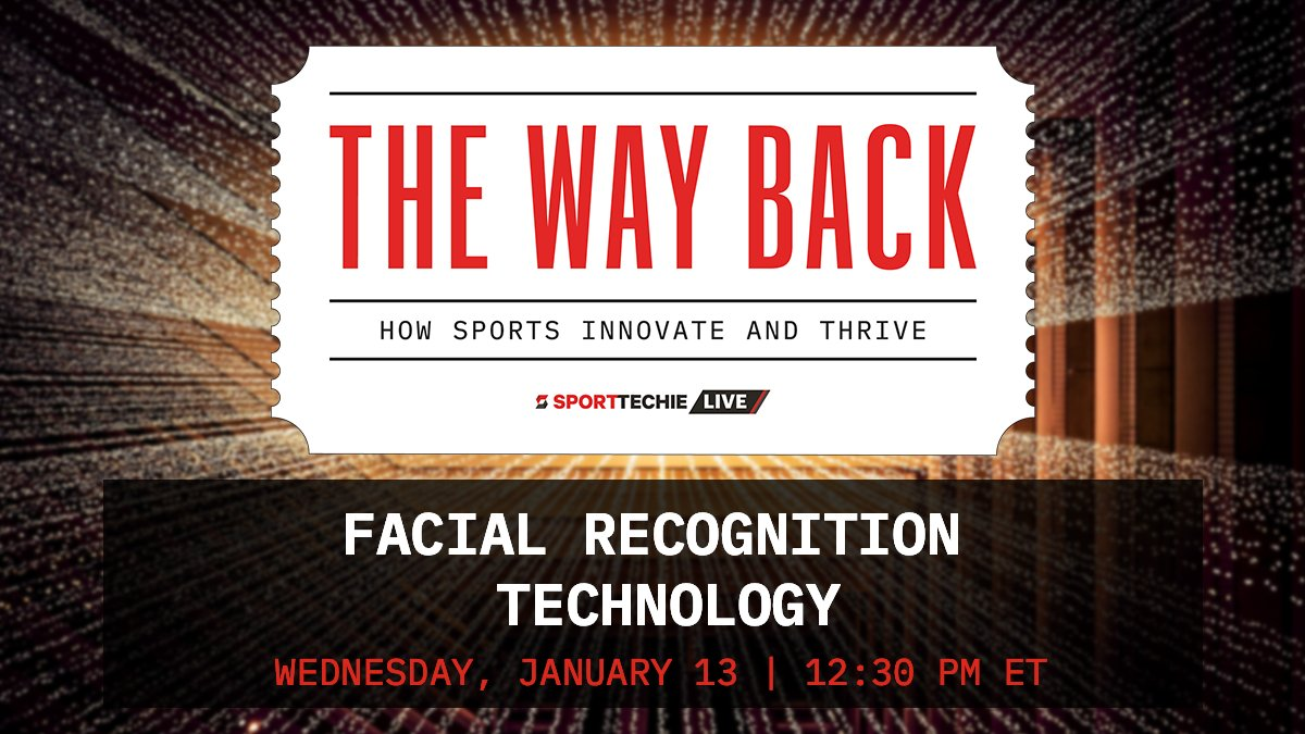 As many organizations look to bring fans back safely in full-capacity, we will discuss the role of facial recognition with @LAFCTECHBOSS of the @LAFC, @shaunpmoore of @Trueface_ai and Jerome Pickett of @Clear.   Join us tomorrow at 12:30pm ET: