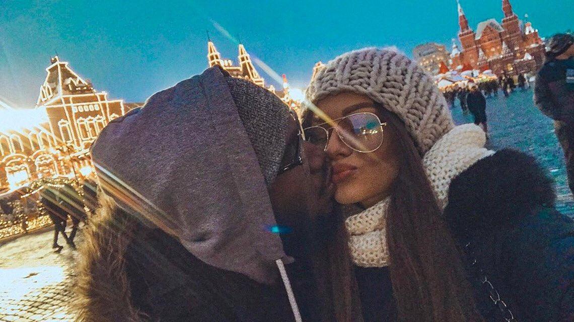 ⚪️ Slavic girl + Black guy ⚫️  #blm #blm✊🏾 #interracial #girl #blackguysonly #wantedblack #selfie #interracialcouple #cristmas #newyear