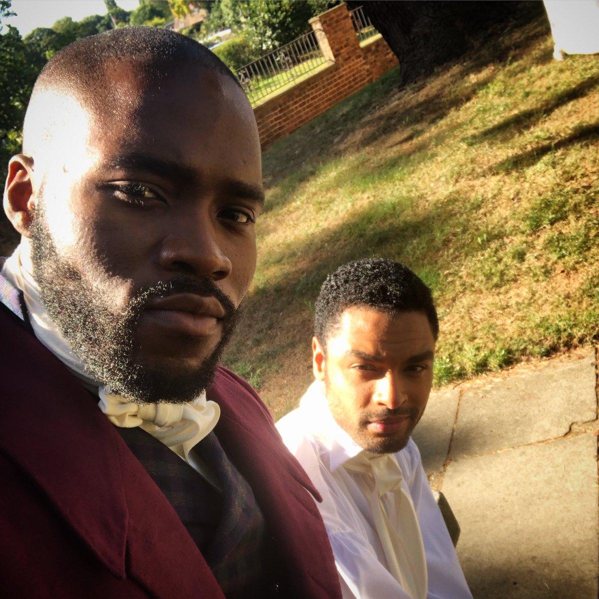 Replying to @MartinsImhangbe: Bromance Chronicles ✊🏾😄 #bridgertonnetflix