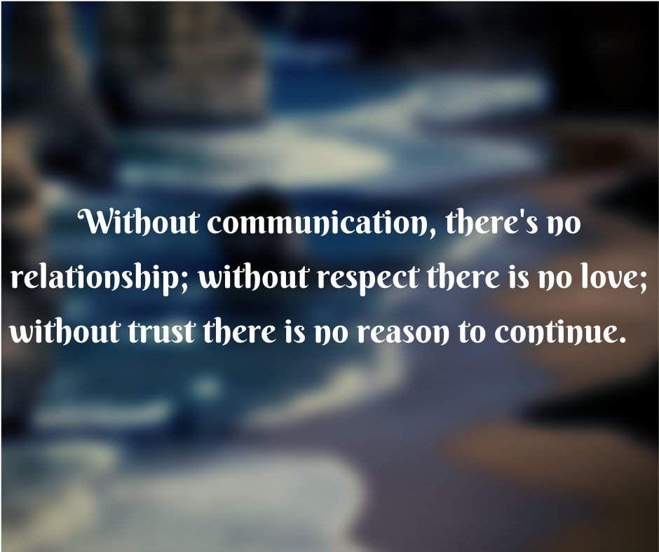 A relationship without trust is like a river without water. #TuesdayMotivation #TuesdayThoughts #TuesdayMorning #quote