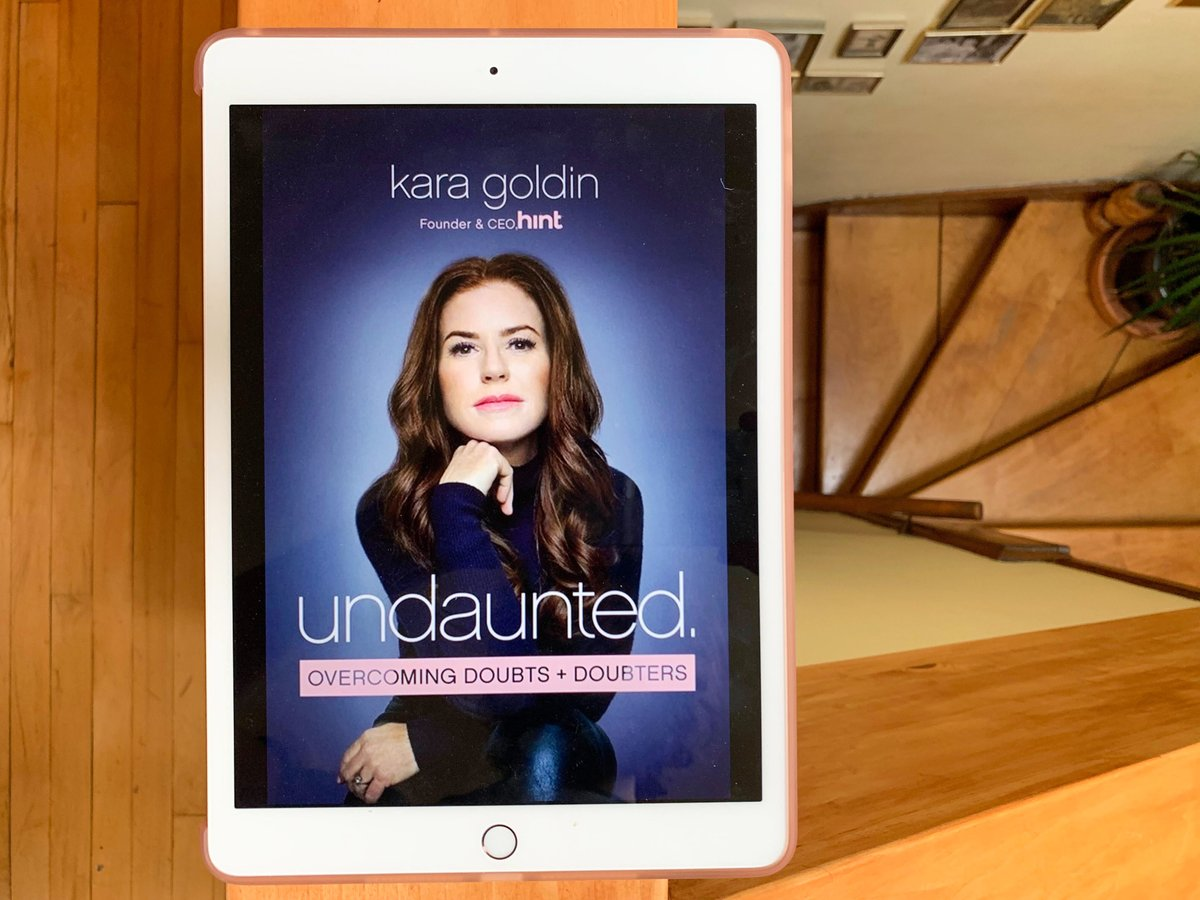 #GIVEAWAY UNDAUNTED by @karagoldin  ABOUT THE BOOK: Part autobiography, part business #memoir & lots of insights on self-development, Undaunted offers inspiring stories that impart lessons that any reader can apply to their own path.   ENDS SUNDAY: