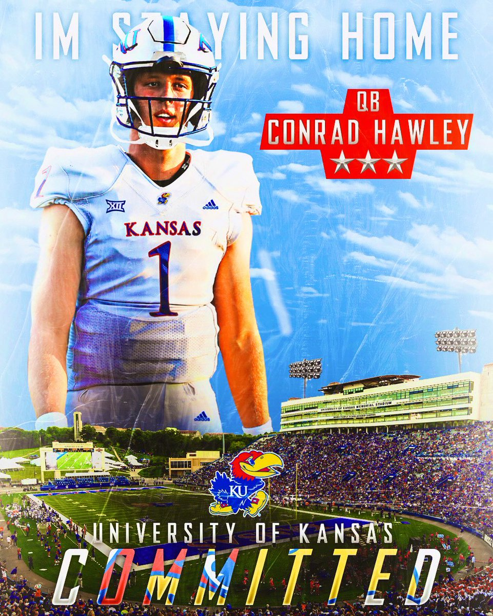 COMMITTED ‼️#RockChalk https://t.co/z87HIq1JaI