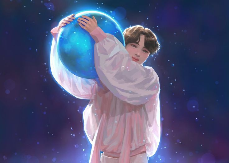 Happy 8 years with our Moon Kim Seokjin !! 🤗✨ Our Moon already work hard till now with us ARMY 🥺💜 He very talented person that I've ever meet ... He are our everythings 🥺 Thanks our Moon Borahae !! BTS not 7 without him .. @BTS_twt 💜 #SEOKJIN #OurMoonJinDay #WeLoveYouJin