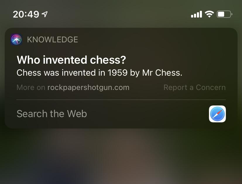 LOL, hey Siri, get out much?