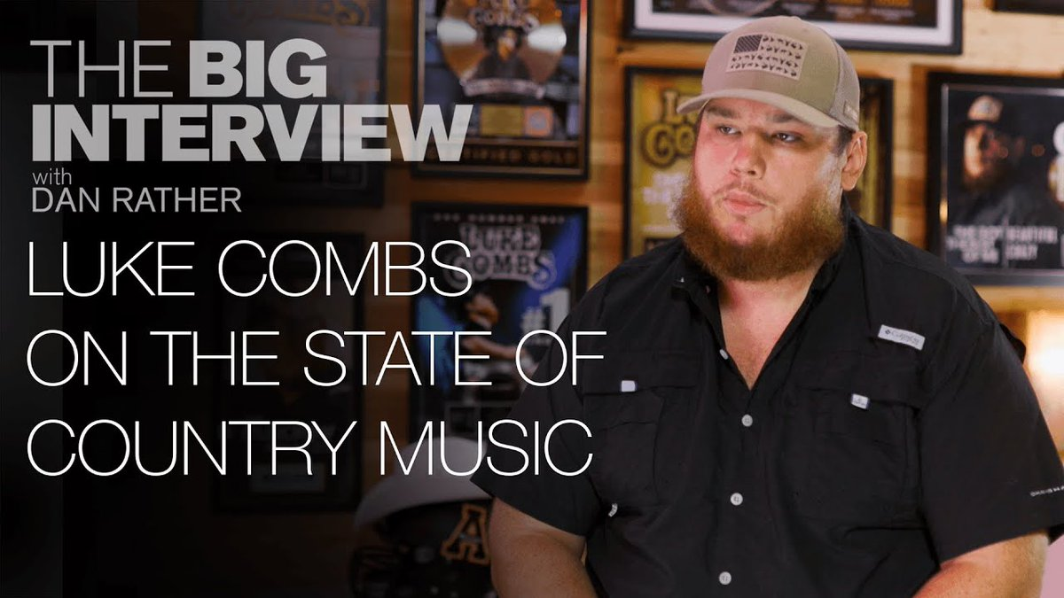 COUNTRY MUSIC FANS! Do you think country music needs a change? @LukeCombs does. Here's why. #TheBigInterview