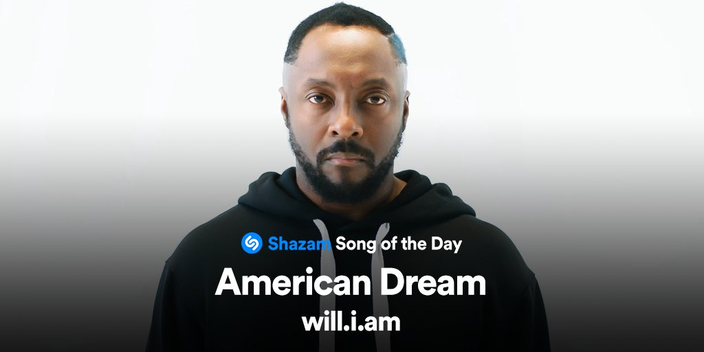 #AmericanDream by @iamwill is out now! Stream our Song of the Day on @AppleMusic & donate to the #AmericanDreamFund here:
