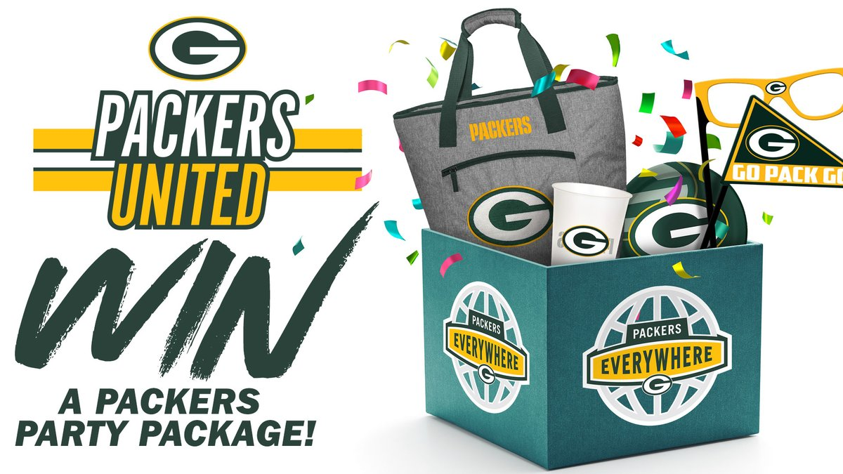 🎉 We want to help YOU get ready for this weekend's game by filling your house with Green & Gold! 🎉  Follow us and RT this tweet for your chance to win a #Packers Party Package courtesy of @UScellular!    Official Rules ➡️