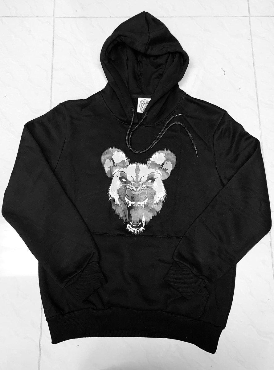 🚨 Limited Edition Hooded Pullover Sweatshirt- Wild Dog, Stencil, Como 8