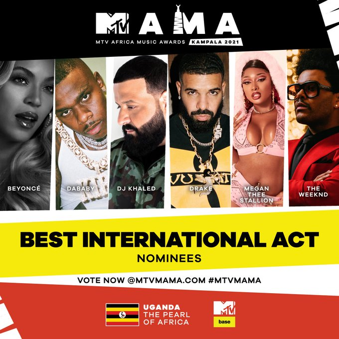 Eddy Kenzo, B2C, Simi, The Weeknd, & more land nods as MTV Africa Music Awards announce final wave of nominations - MUGIBSON WRITES