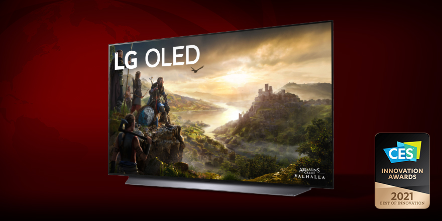 Another year, another OLED win in the books. #LGOLEDTV technology is a Best of Innovation winner in the gaming category at #CES2021.  #LGCES2021