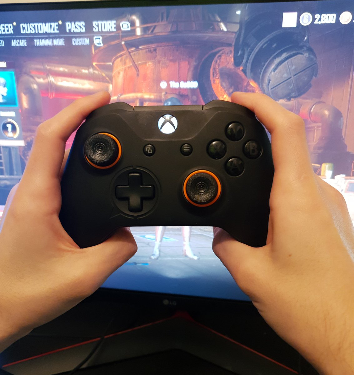 GaGOD - Just switched to the new digital triggers & my GOD I'm hitting different! @ScufGaming   Any questions ask below ⬇️⬇️⬇️  Don't forget you can get 5% with my link  or code GaGOD at checkout!  #scuf #Ad #twitchcommunity