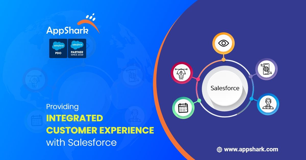 Get the integrated customer experience for your business with @salesforce-  Know more about our Salesforce Services-   #Salesforce #customer360 #customersatisfaction #customers #Business #businessgrowth #startup #Revenue #Marketing