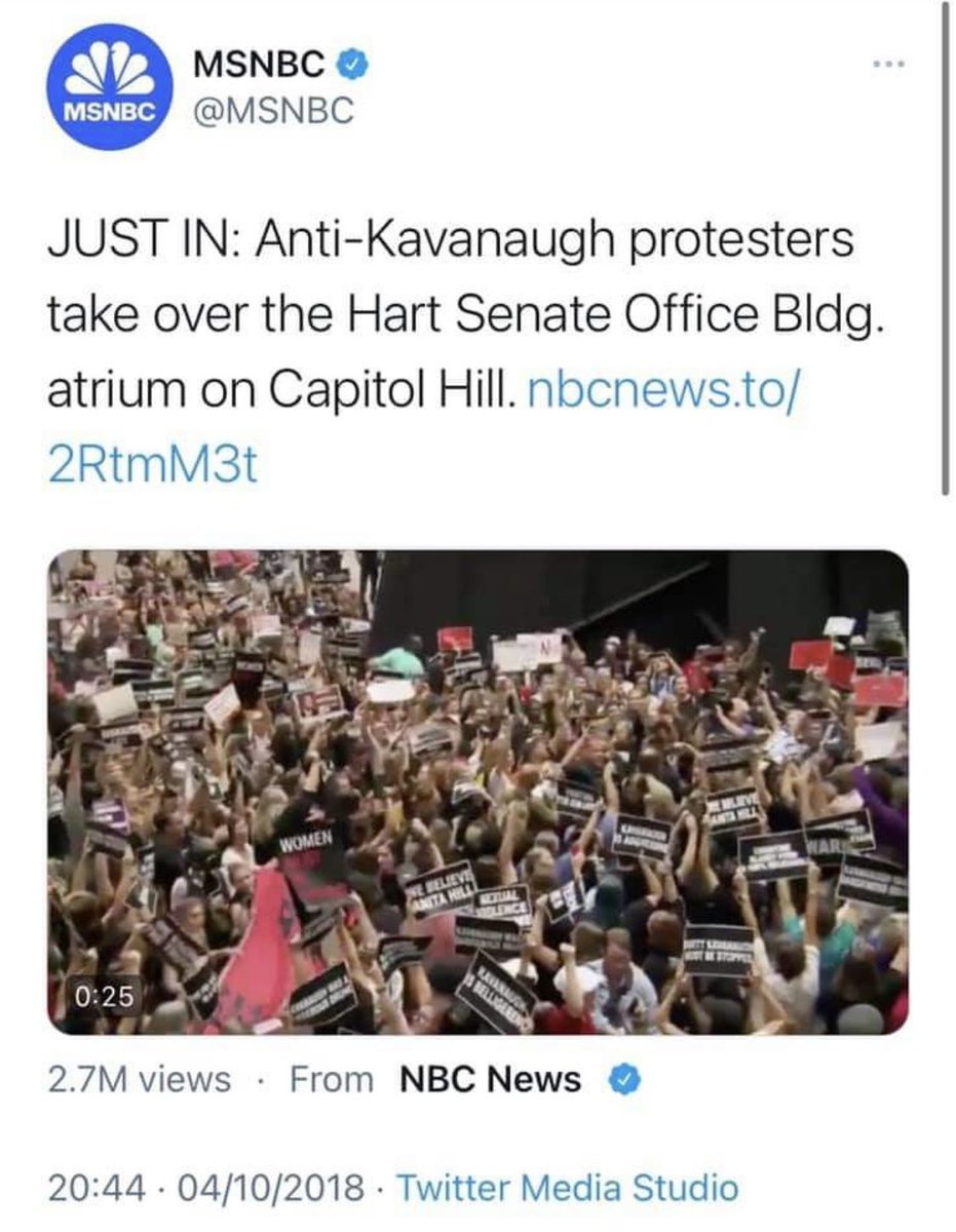 I have been a DC resident for years and can tell you when our city was the most out-of-control.   1) BLM George Floyd protests. Nothing compares. Our city was genuinely under violent siege for weeks.  2) Brett Kavanaugh hearings—they stormed the Capitol for days. https://t.co/jftDLa0gax