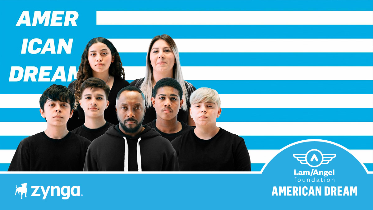 @zynga is honored to join with @iamwill and @iamangelfdn to connect today's students with education, inspiration and resources to turn their dreams into reality.   Visit  to support this crucial initiative. #AmericanDreamFund