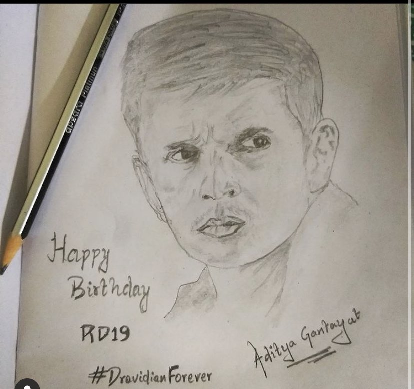 #RahulDravid My life❤️ #HappyBirthdayRahulDravid  Coz I couldn't tweet yesterday
