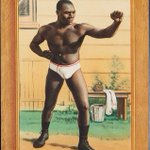 Image for the Tweet beginning: Sam Langford, early 1900s all-time