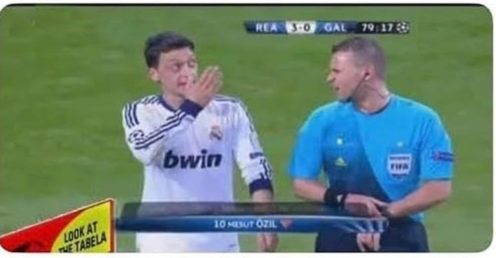 @MesutOzil1088 @ChampionsLeague @realmadrid @Cristiano Ben bu anı unutamıyorum