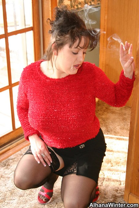 2 pic. It's Titty Tuesday and I need your help to get this sweater off. RTs and Likes would do it. #busty