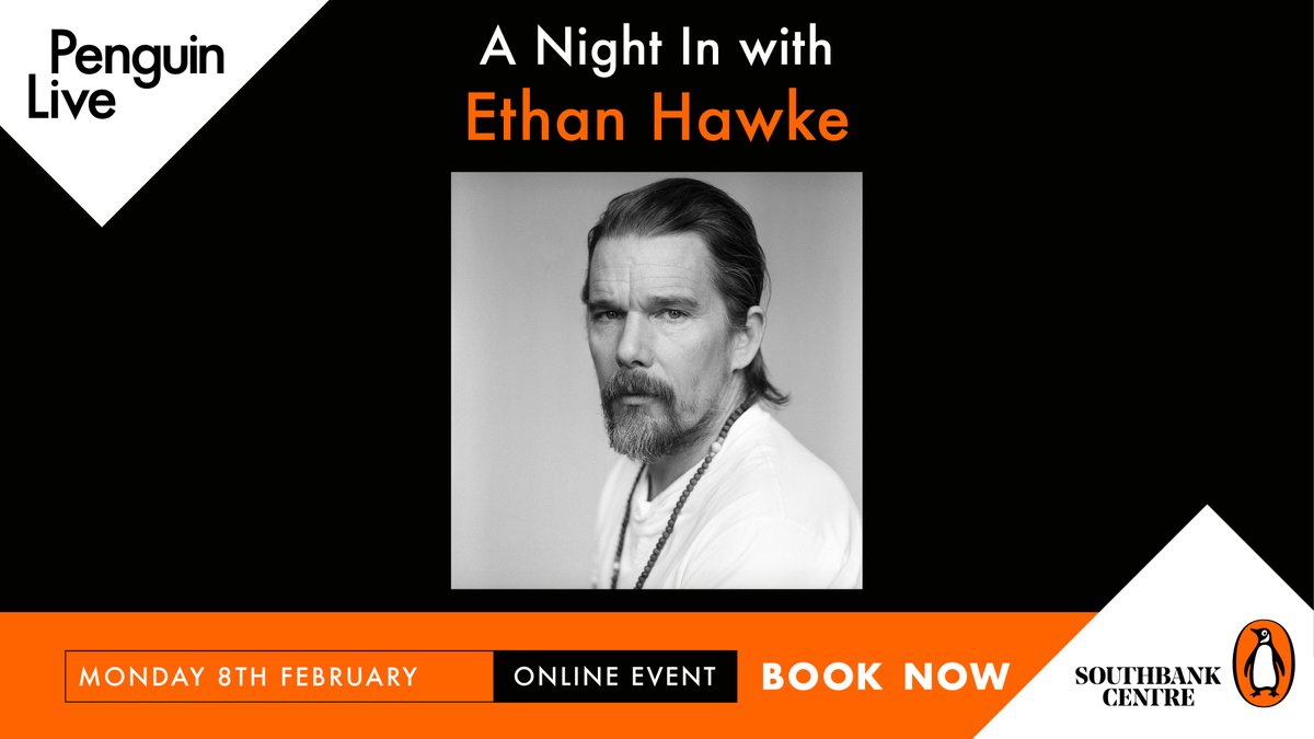Join actor and writer #EthanHawke as he shares his latest novel, A Bright Ray of Darkness: a meditation on fame and celebrity, and the healing power of art.  Get your tickets now:  @southbankcentre  @litsouthbank