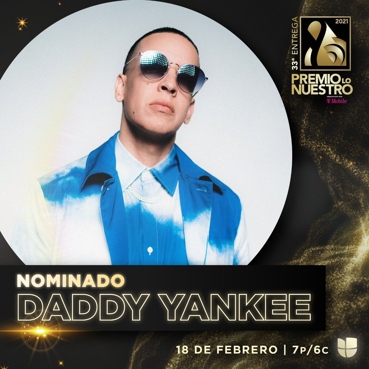 Daddy Yankee has been nominated in 4 categories at the Premio Lo Nuestro 2021:   - Male Artist of the Year (urban)  - Remix of the Year — Relación Remix  - Song of the Year (urban) — Que Tire Pa' Lante, Muévelo  - Collaboration of the year (urban) - Muévelo