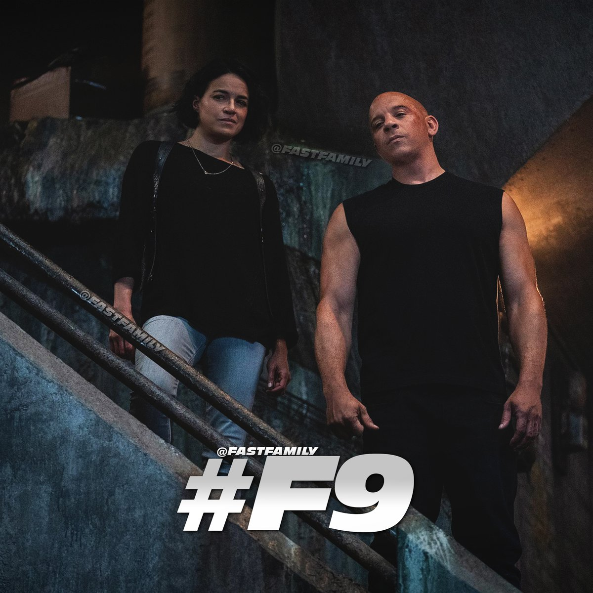 Never turn your back on family. #F9 #FAST9 #TorettoTuesday