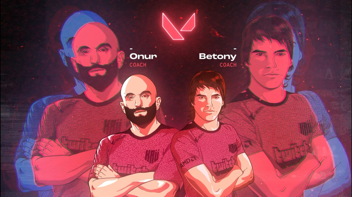 📢WELCOME!📢  Bringing all their experience and strategic knowledge, @onurthegreat and @MBetony will lead our #VALORANT squad as Coaches!🔥  #VamosAJugar 🤟