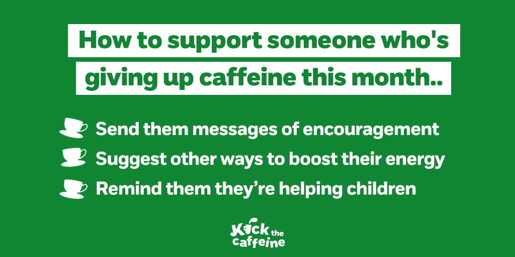 Know someone who is banishing the brews this January? Tag a friend you think can #KicktheCaffeine this month!