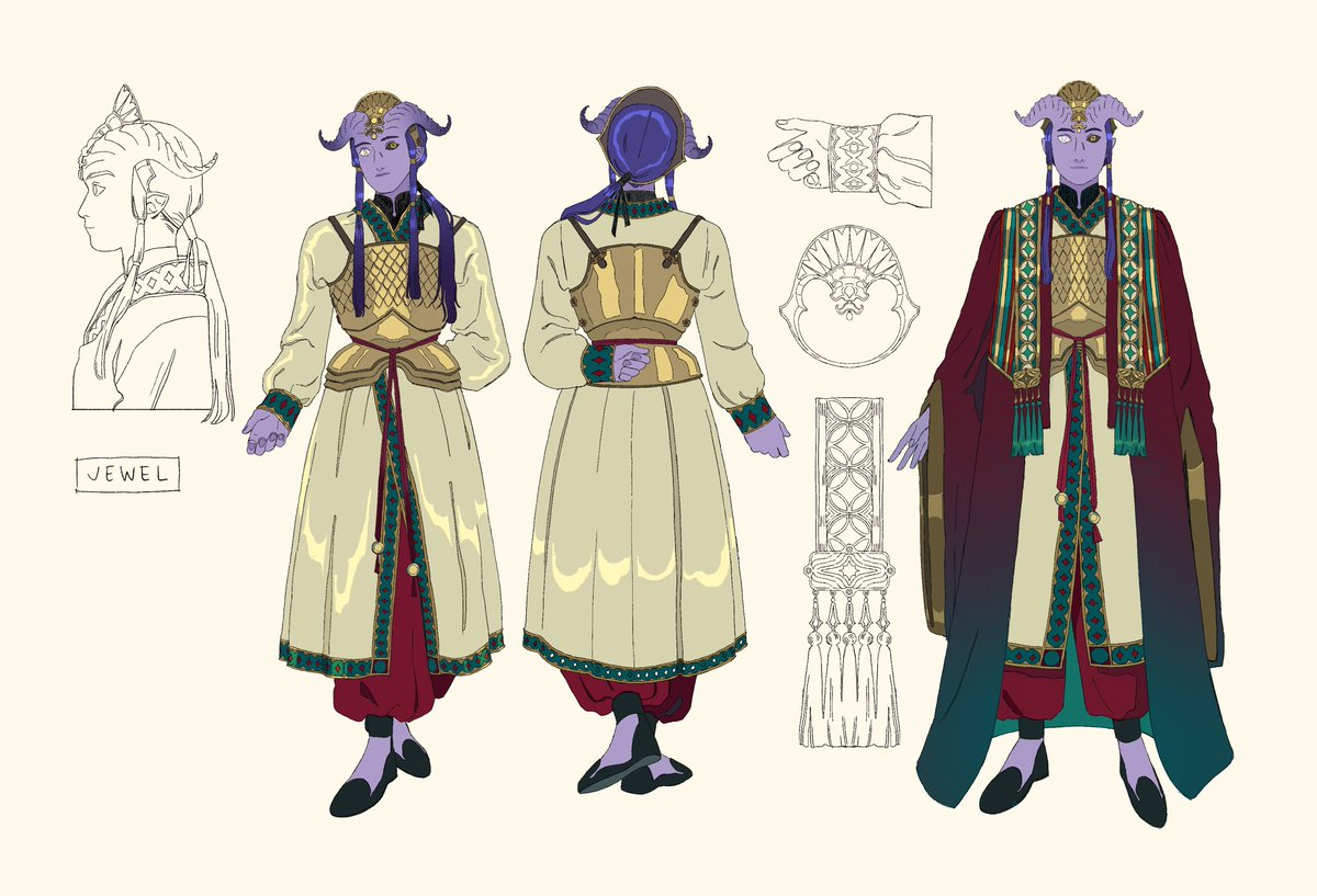 Design commission for @lingmongchaa of their character Jewel ! #DnD