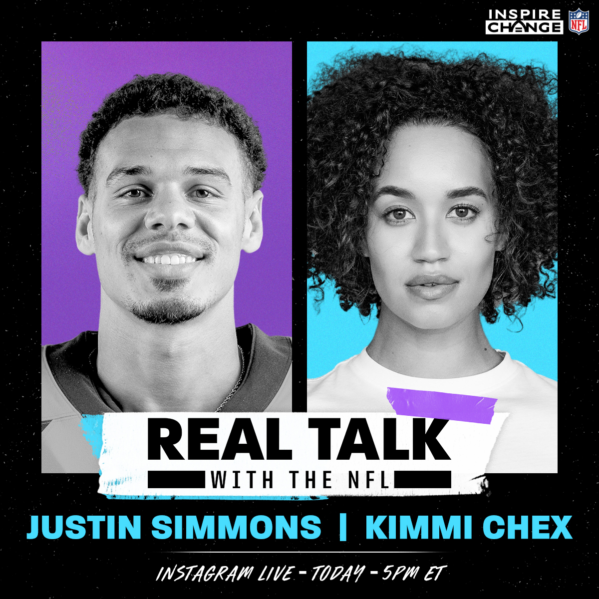 He's a #WPMOY nominee. A community and social justice leader.  @Broncos safety @jsimms1119 joins @kimmichex TODAY at 5 p.m. ET on our IG Live:  #InspireChange