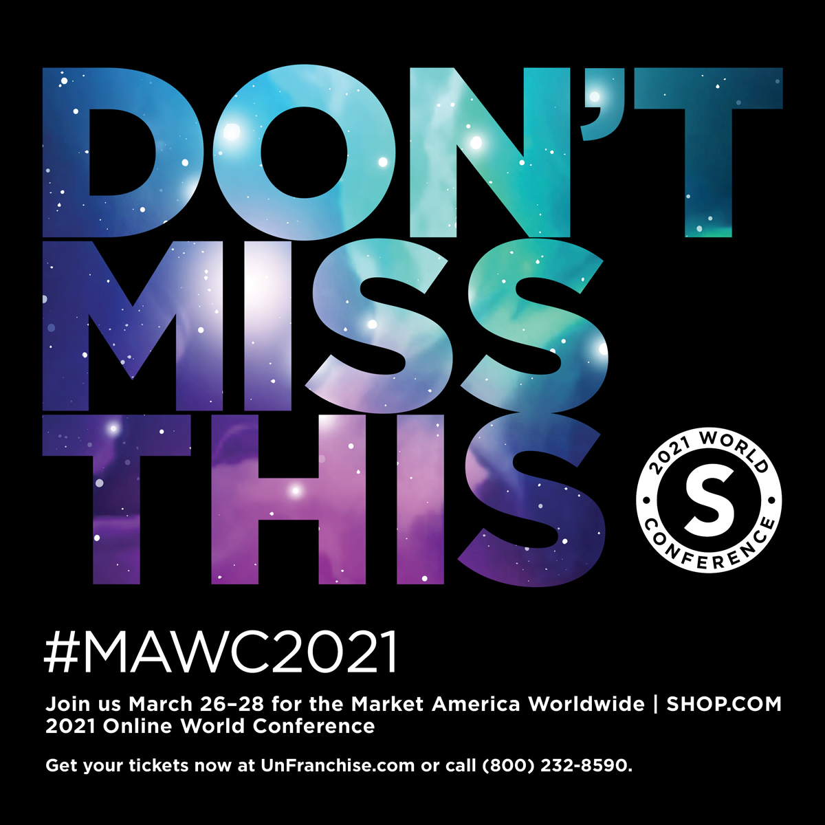 In 2020 we perfected the online experience from daily Zoom sessions to hosting International Convention! I'm looking forward to the next BEST online event ever coming this March... buy your tickets now at . #PeoplePower #BusinessBuilding #MAWC2021