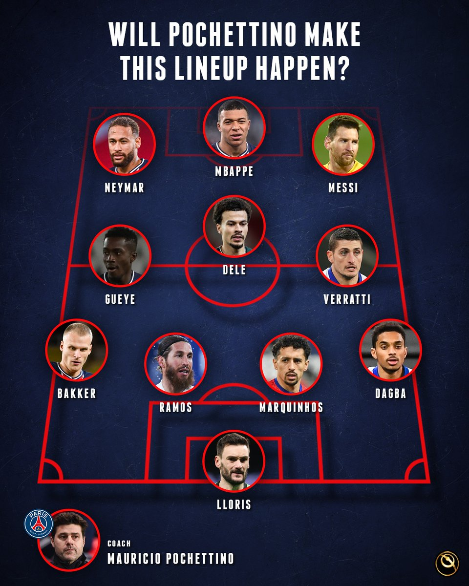 🧐 Can this PSG's starting XI happen in the future?