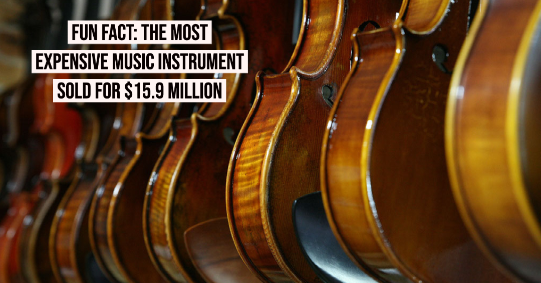 "In 2011, the ""Lady Blunt"" Stradivarius violin sold for a world record $15.9 million! https://t.co/Qad3vQ1GlF"