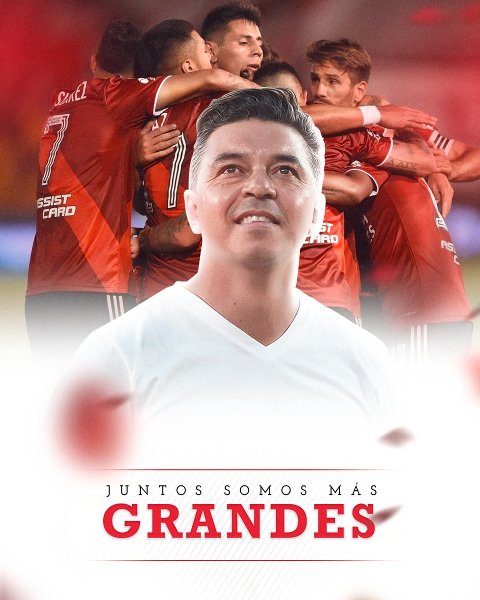 Replying to @RiverPlate: Hoy, todos unidos. 💫 #JuntosSomosMásGrandes