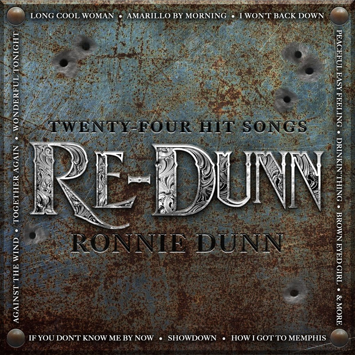 Ronnie's 24 track country / rock covers album #REDUNN has officially been out for a year! What are some of your favorite songs on it? Listen here: