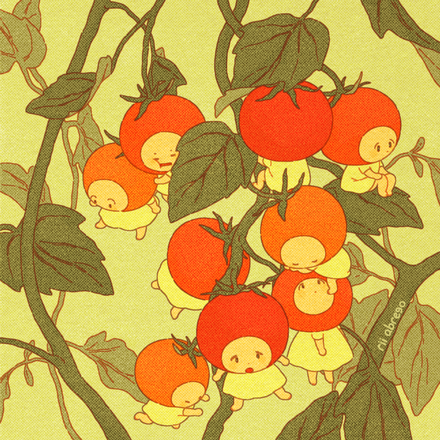 summer cherry tomatoes