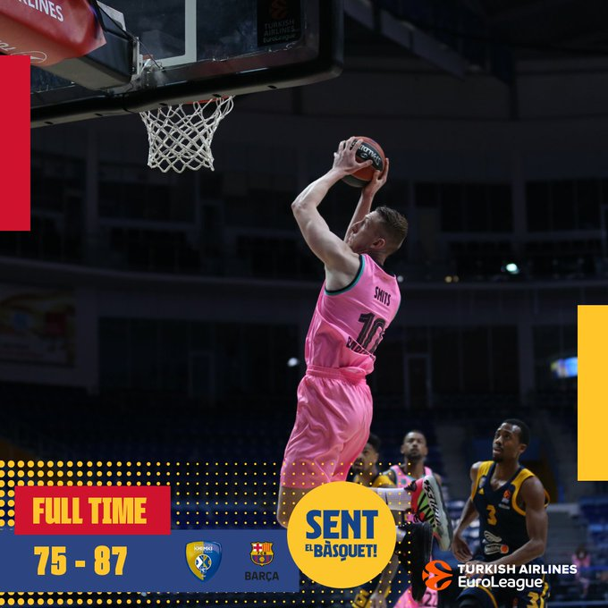 EuroLeague – Il Barcelona abbatte il fanalino di coda Khimki con Calathes e Higgins